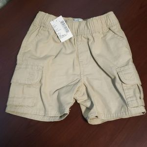 NWT The Children's Place khaki shorts